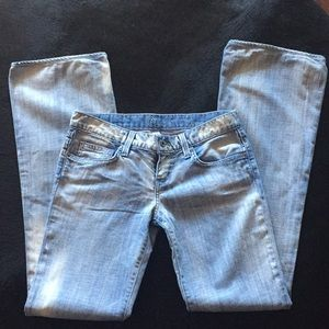 EUC Chip and Pepper Walk Of Shame Jeans Size 25